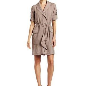 BCBG  Medium Hana Front Cascade Dress